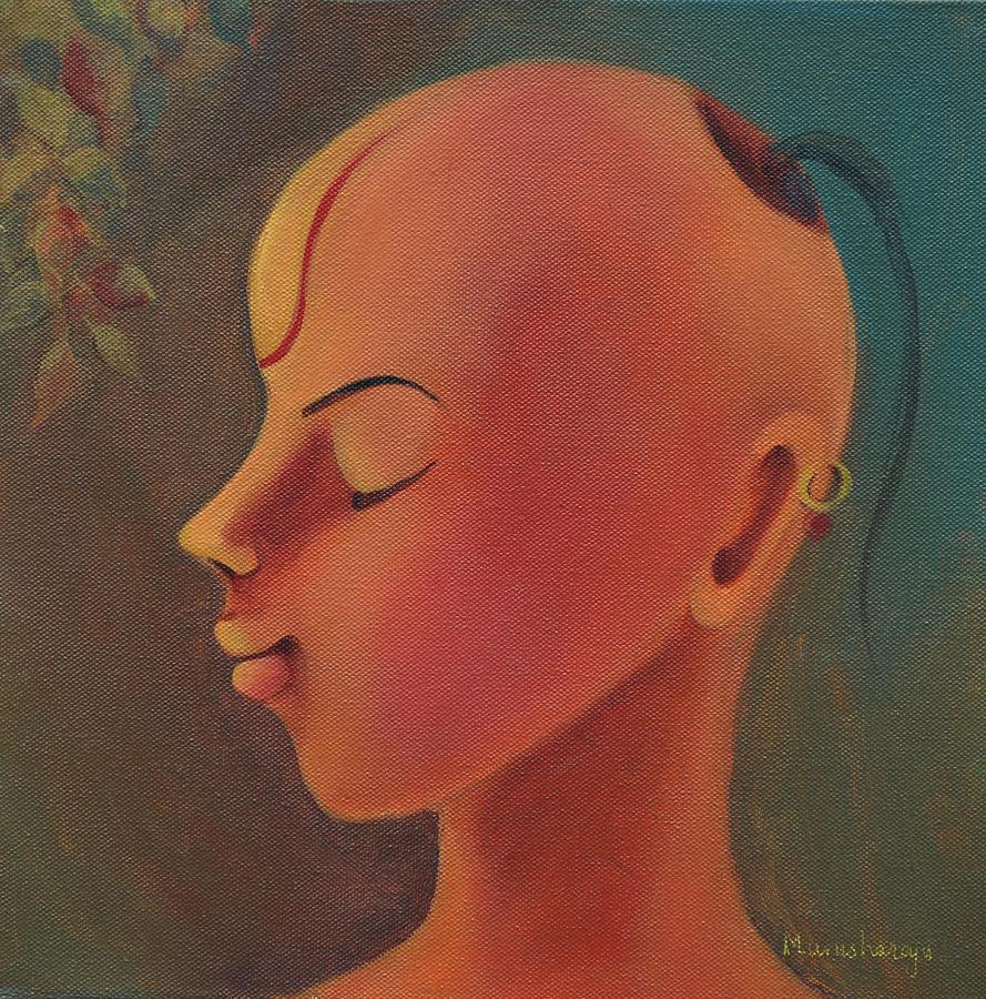 Pandit Painting - Pandit by Manisha Raju