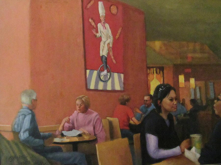 Interior Painting - Panera Bread by Janet McGrath