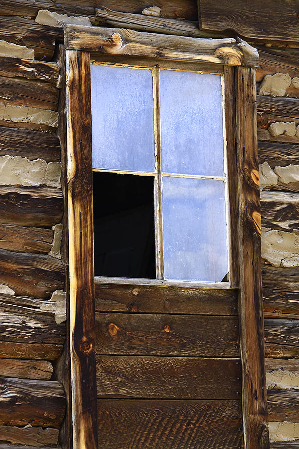 Nature Photograph - Panes Of Yesteryear by David Kehrli