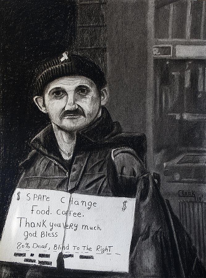 Panhandler by Wade Clark