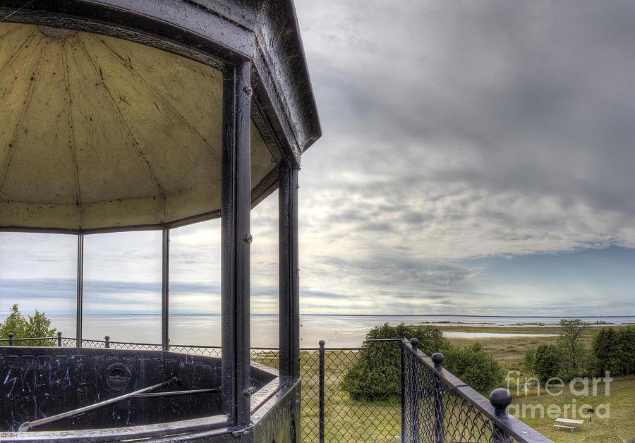 Peninsula Photograph - Paninsula Point Lighthouse Lantern Room by Twenty Two North Photography