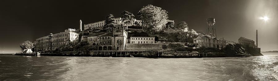 Alcatraz Photograph - Panorama Alcatraz Up Close by Scott Campbell