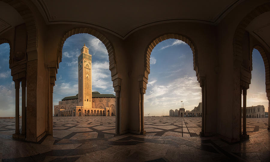 Panorama Casablanca Photograph by Stanley Chen Xi, landscape and architecture photographer