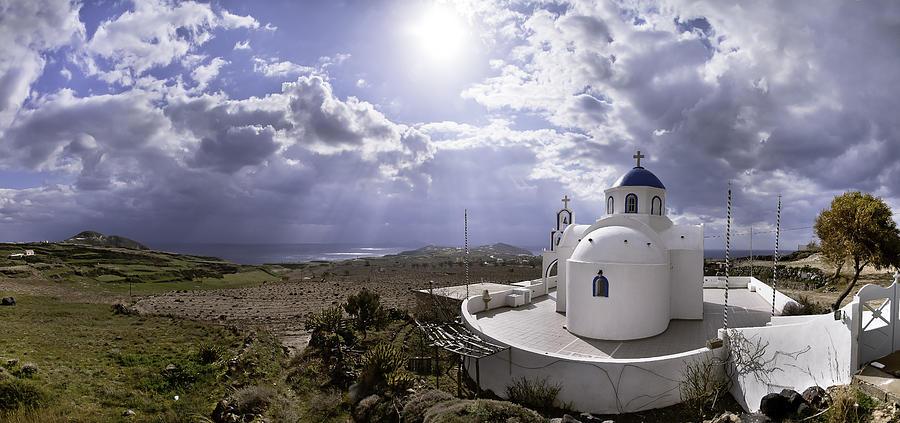 Panorama Greece Santorini 06 by Sentio Photography