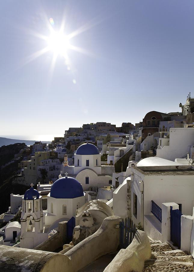 Panorama Greece Santorini 10 by Sentio Photography