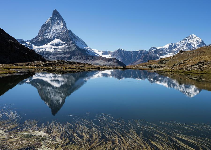 Panorama Of Beautiful Matterhorn And Photograph by Rhyman007