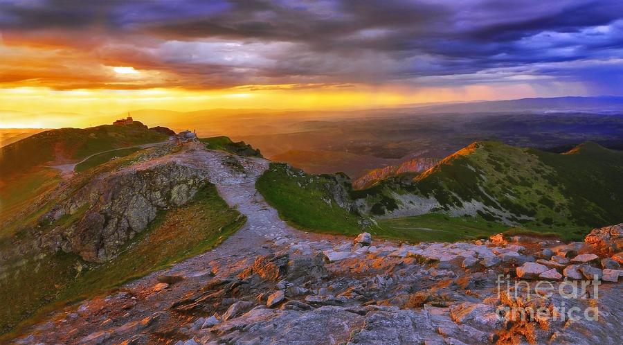 Mountains Photograph - Panorama Of The Tatras In Poland by Lilianna Sokolowska