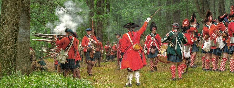 Panoramic Photograph - Panoramic Battle Of Bushy Run by Randy Steele