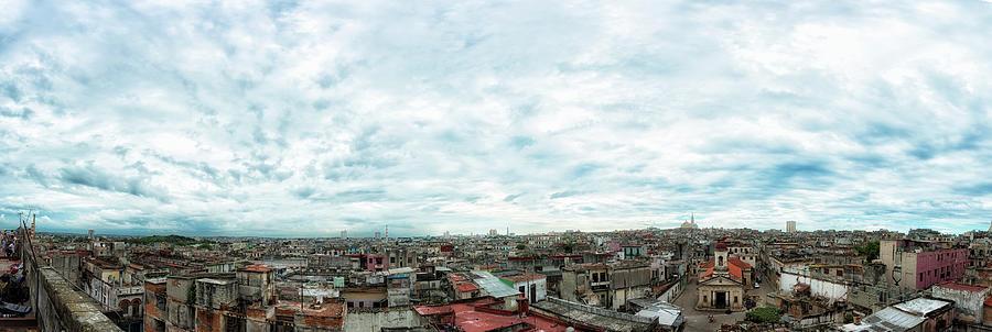 Panoramic Cityscape, Havana, Cuba Photograph by Elisabeth Pollaert Smith