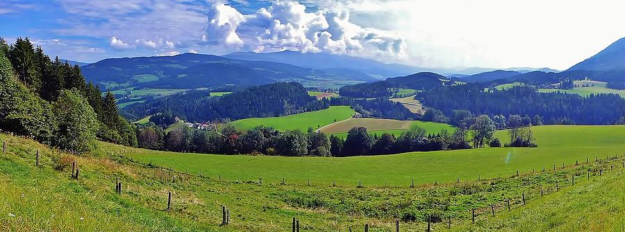 Green Valley Photograph - Panoramic Landscape by  Jose Carlos Fernandes De Andrade