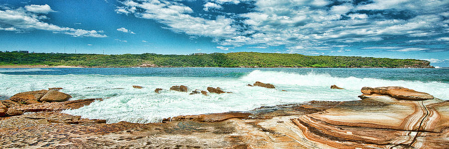 Australia Photograph - Panoramic Photo Of La Perouse by Yew Kwang