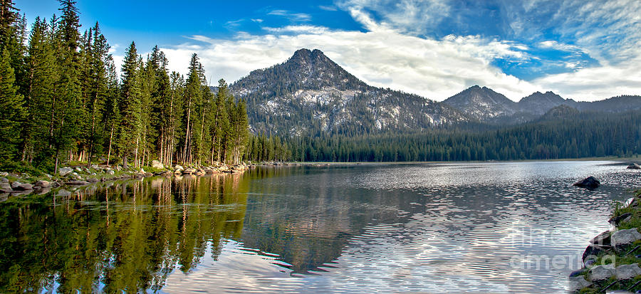 Outdoors Photograph - Panoramic View Of Anthony Lake by Robert Bales