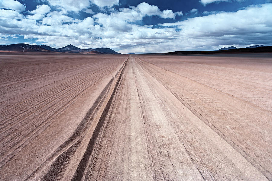 Panoramic View Of Bolivian Altiplano Photograph by Hadynyah