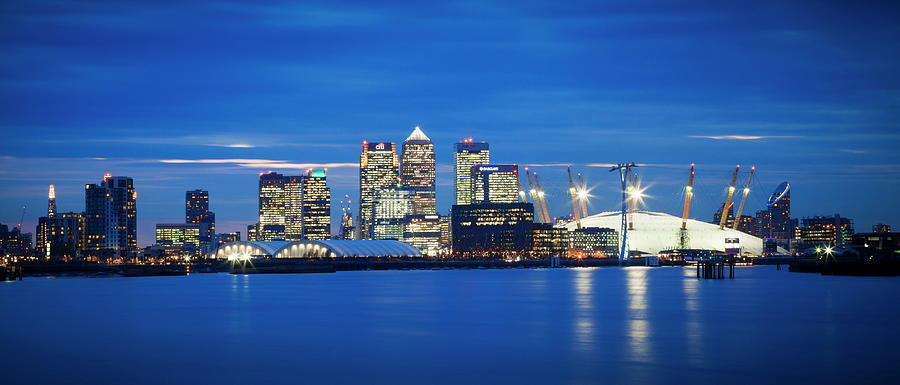 Panoramic View Of London Skyline Over Photograph by Ian Egner / Robertharding