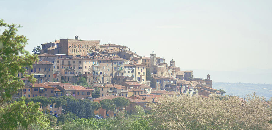 Panoramic View Of Pienza, Tuscany Photograph by Nico De Pasquale Photography