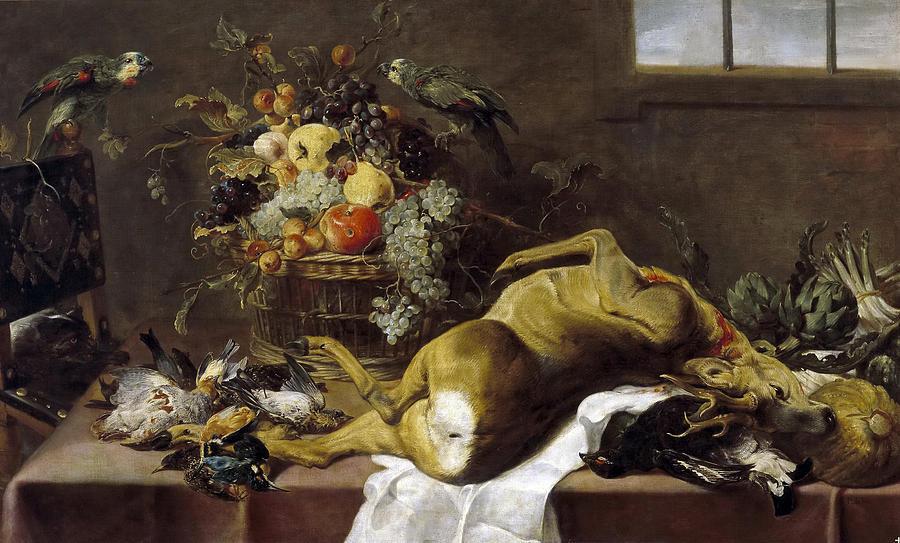 Paul De Vos Painting - Pantry by Paul de Vos