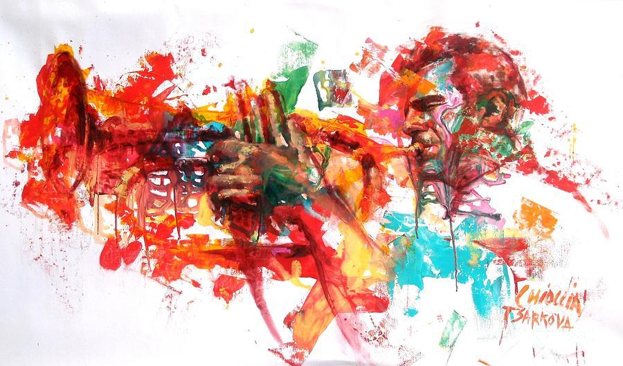 Paolo Fresu Painting - Paolo Fresu by Massimo Chioccia