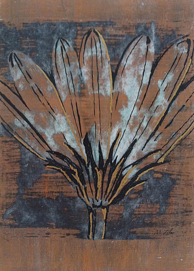 Flower Painting - Paper Flower by Megan Washington