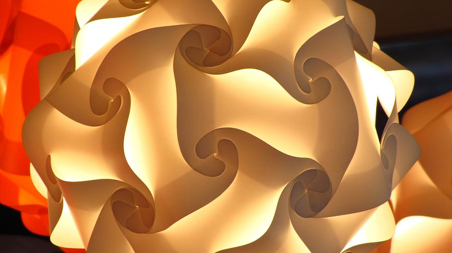 Paper Lantern Abstract Photograph