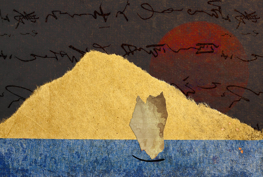 Paper Photograph - Paper Sail by Carol Leigh