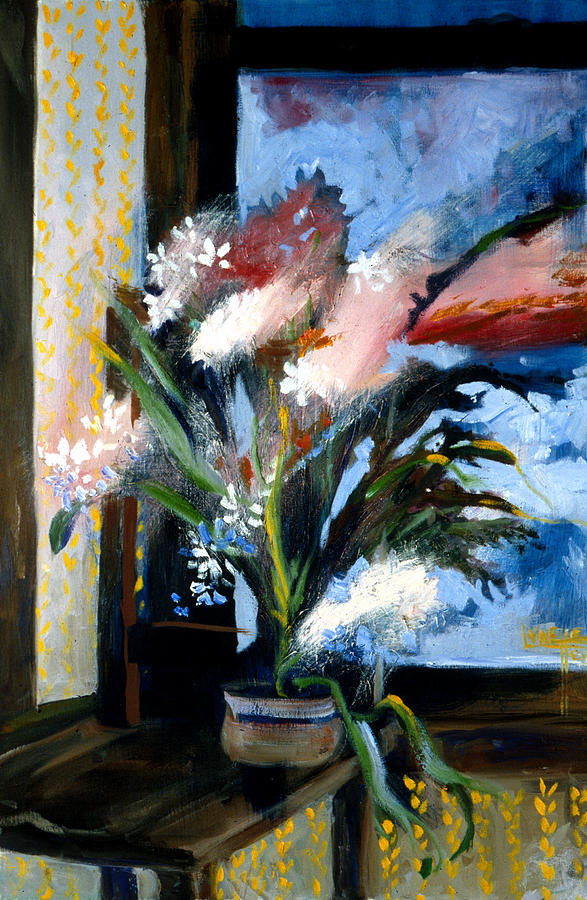 Flowers Painting - Paperwhites Getting Away by Lynette Yencho