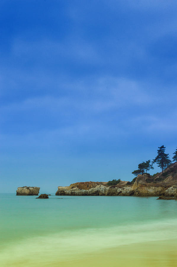 Albufeira Photograph - Paradise Beach by Marco Oliveira