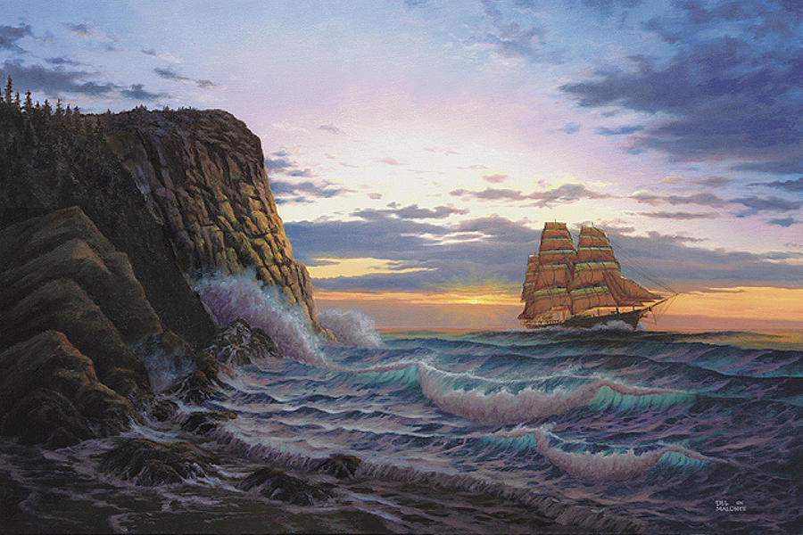 Paradise Cove and the Lightning  by Del Malonee
