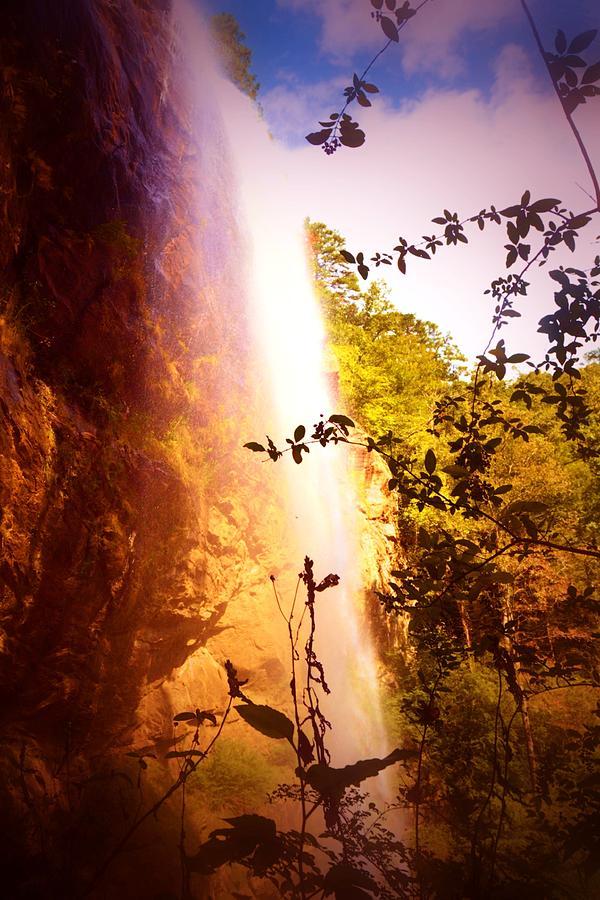 Purple Photograph - Paradise Falls by James Potts
