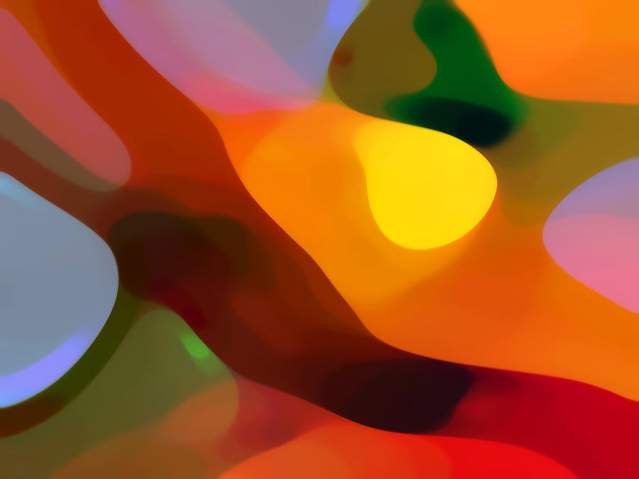 Abstract Painting - Paradise Found 2 by Amy Vangsgard