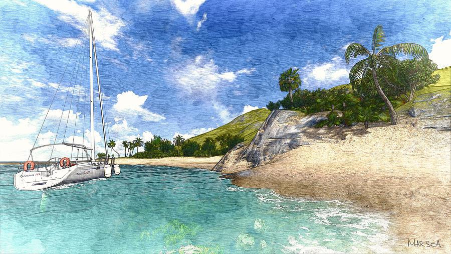 Paradise Found Painting