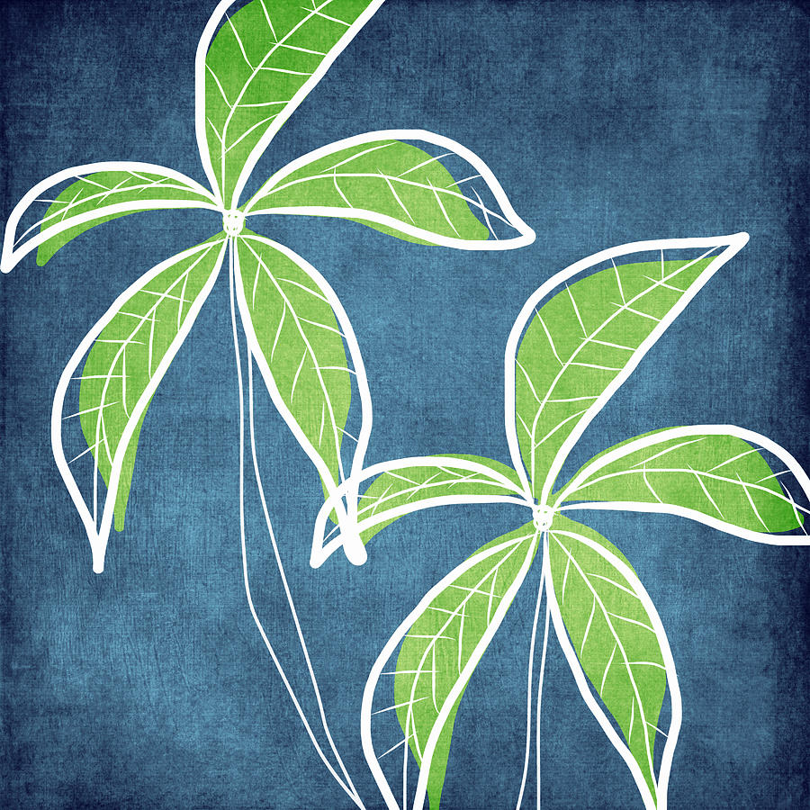 Paradise Palm Trees Painting