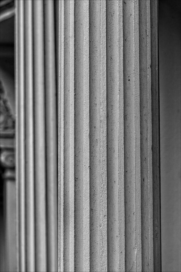 Architectural Detail Photograph - Parallelism by Robert Ullmann