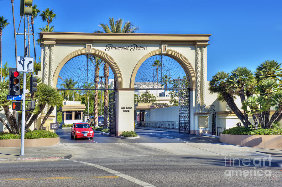 Paramount Studios Movie Studio Hollywood Ca Photograph By David Zanzinger