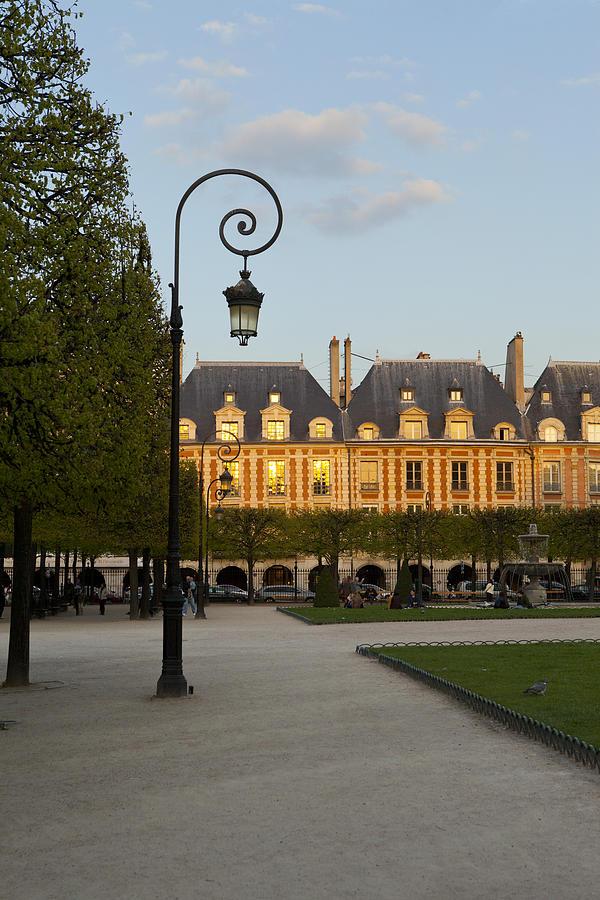 Paris Photograph - Parc Louis Xiii by Art Ferrier