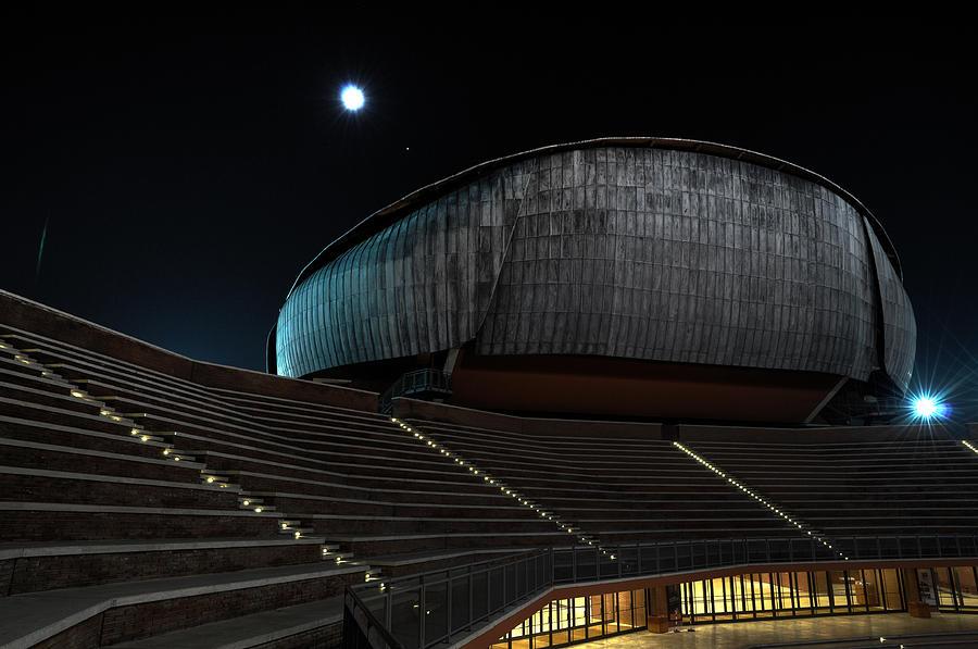 Rome Photograph - Parco Della Musica by Simone Micheli