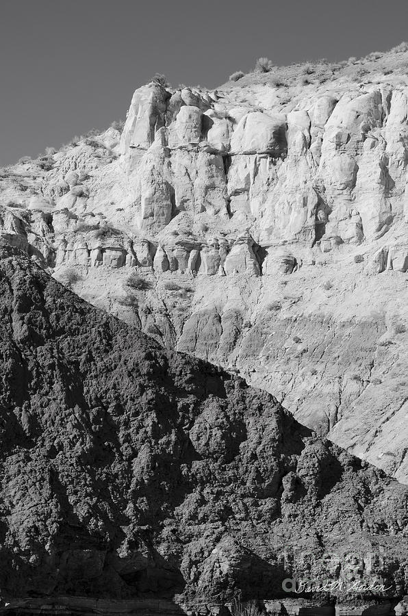 Black Photograph - Paria Utah I by Dave Gordon