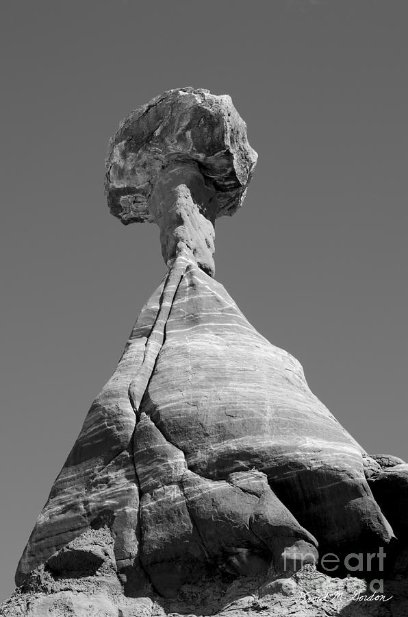 Black Photograph - Paria Utah II by Dave Gordon