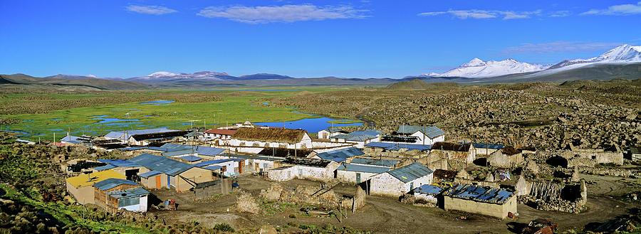 Altiplano Photograph - Parinacota, An Aymara Village In Lauca by Martin Zwick