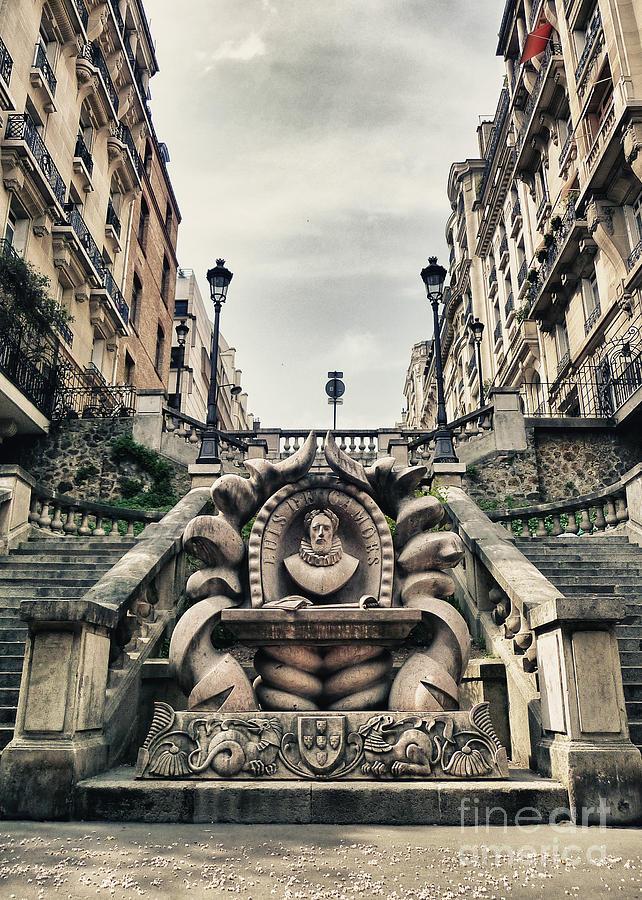 Statue Photograph - Paris - Statue by ARTSHOT  - Photographic Art
