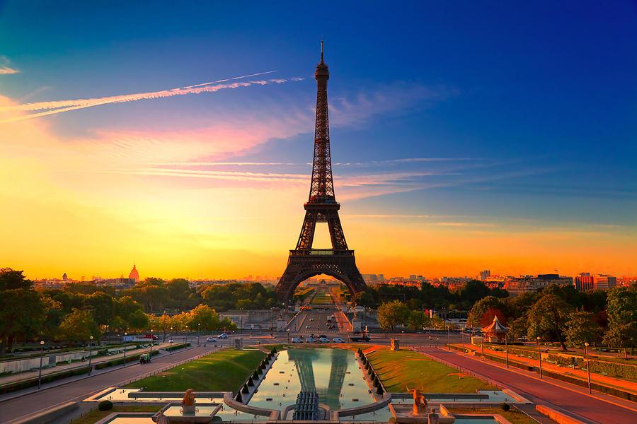 Paris Photograph - Paris 17 by Tom Uhlenberg