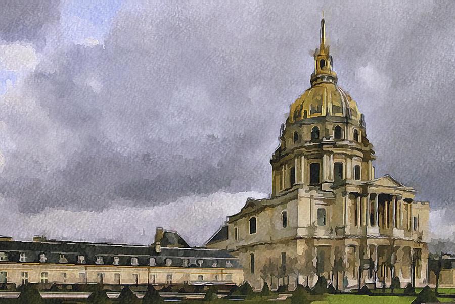 Paris Digital Art - Paris 4 by Yury Malkov