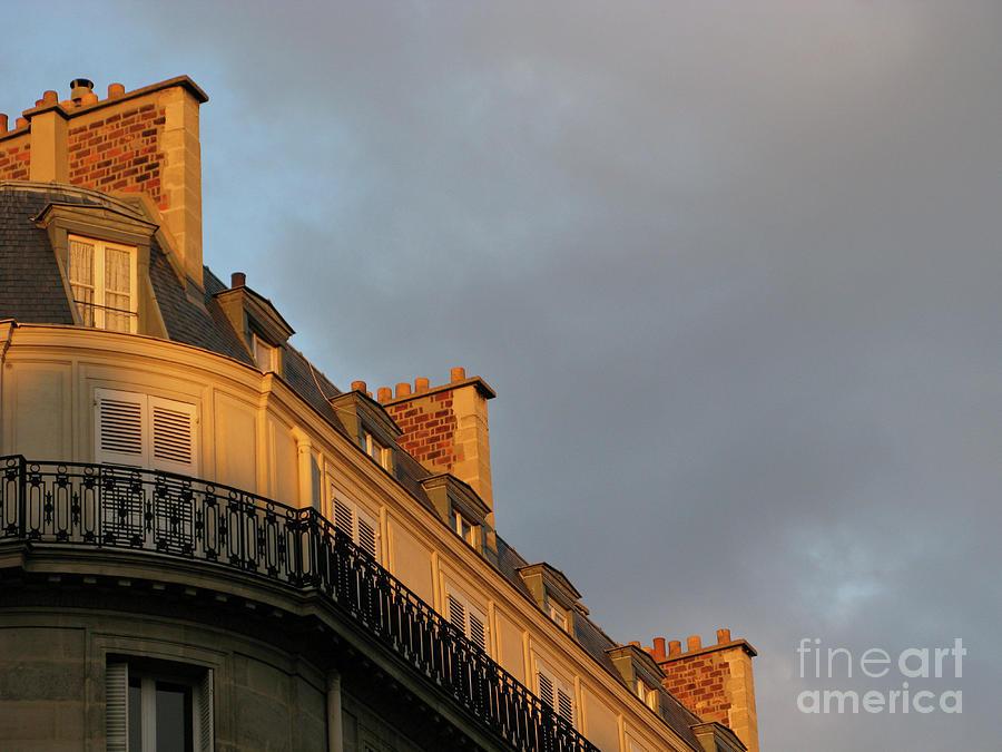 Paris At Sunset Photograph