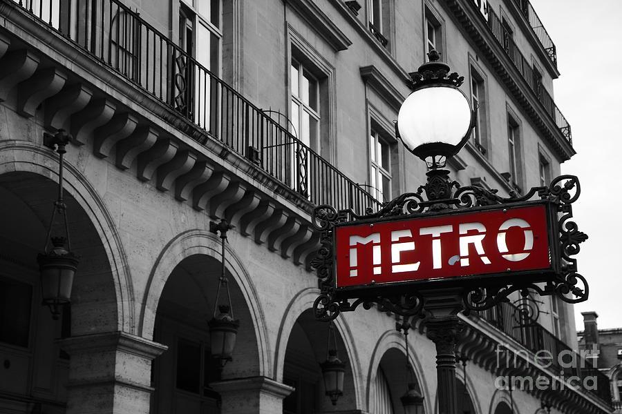 Paris metro sign photograph paris black and white metro sign photo paris metro sign