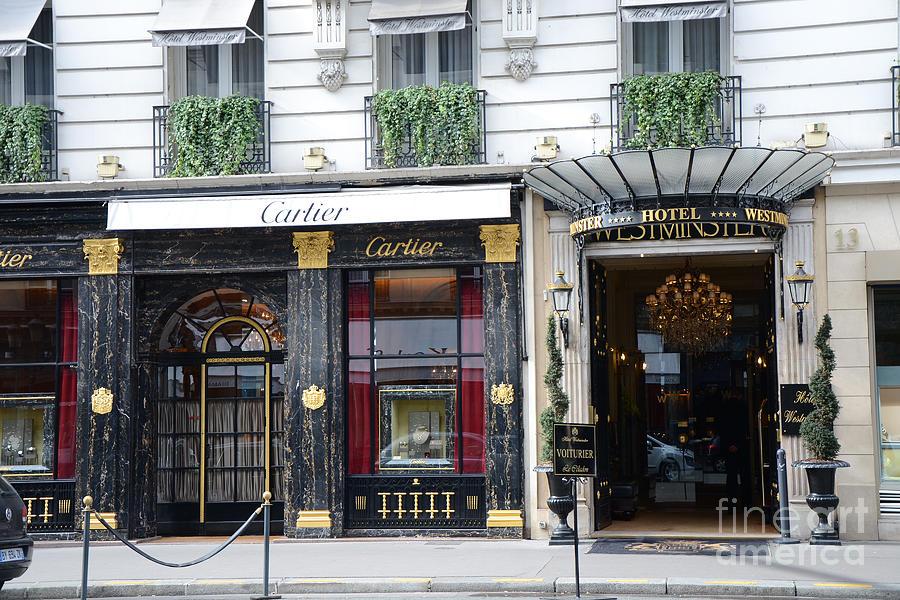 paris cartier photos paris elegant opulence hotel westminster paris cartier boutique fine. Black Bedroom Furniture Sets. Home Design Ideas