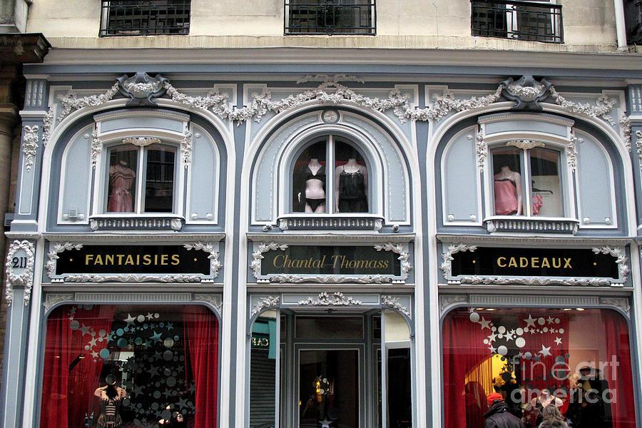 Paris chantel thomass french lingerie luxury shop - Salon lingerie paris ...