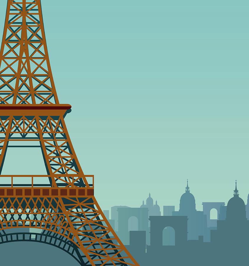 Paris Digital Art by Drmakkoy