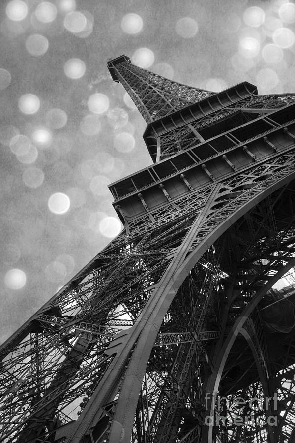 Paris Eiffel Tower Surreal Black and White Photography ...