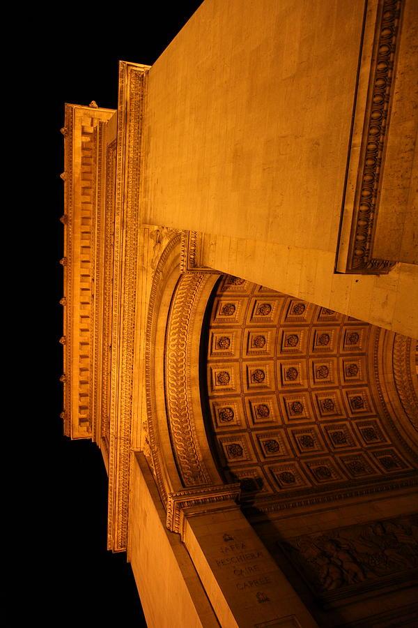 Paris Photograph - Paris France - Arc De Triomphe - 01132 by DC Photographer