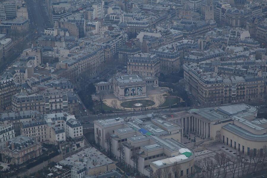 Antique Photograph - Paris France - Eiffel Tower - 01139 by DC Photographer