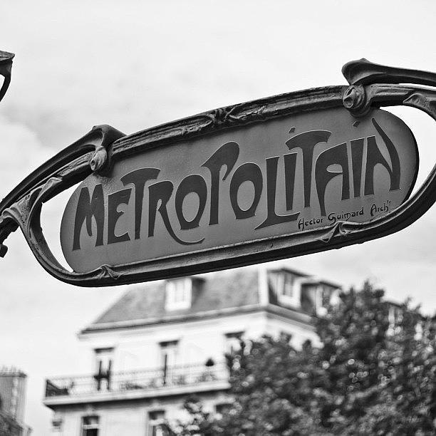 Love Photograph - #paris #france by Georgia Fowler
